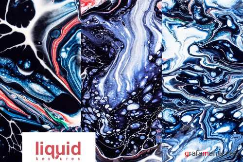 Liquid Textures, marble textures, backgrounds acrylic - 237975