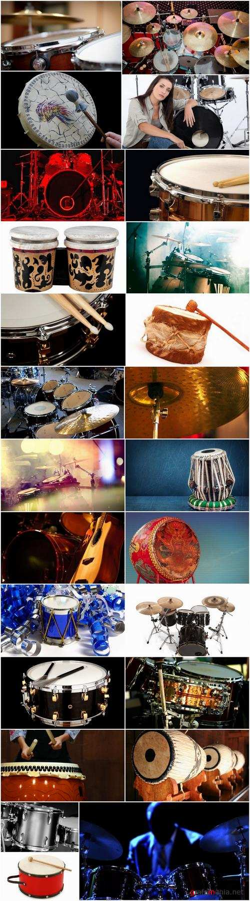 Musical instrument drum drummer stick 25 HQ Jpeg