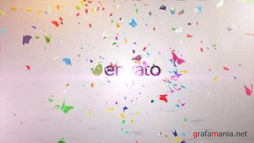 Colorful Butterfly Logo Reveal II - After Effects Project (Videohive)