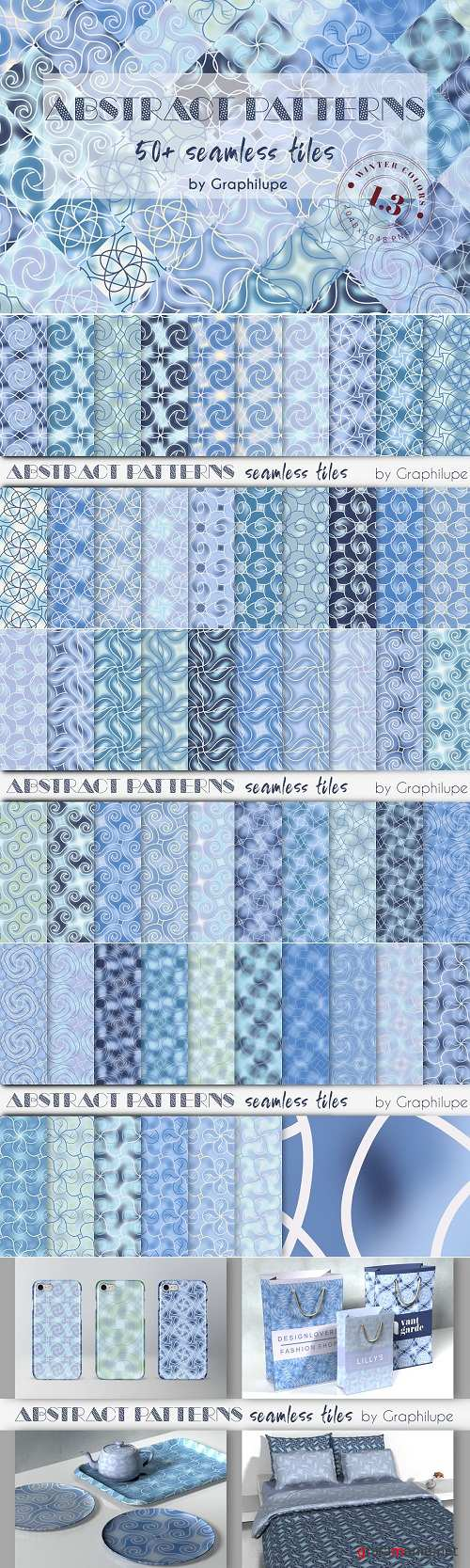 Abstract Patterns Vol. 1.3 - Winter - 3027713