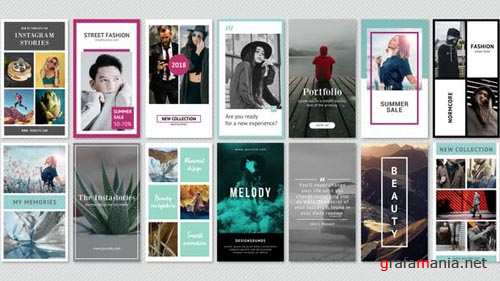 Instagram Stories Minimal Pack - After Effects Project (Videohive)