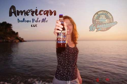 Beach Beer Happy Moment | Logo - 384612