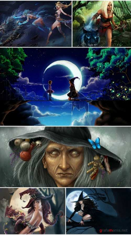 HD witch pictures collection