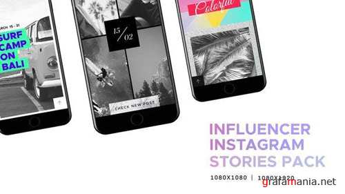 Influencer // Social Media - Instagram Stories Pack - After Effects Project (Videohive)