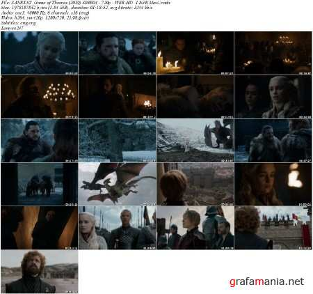 Игра престолов / Game of Thrones (2019) WEB-DL [H.264/1080p-LQ] (сезон 8, серия 4)