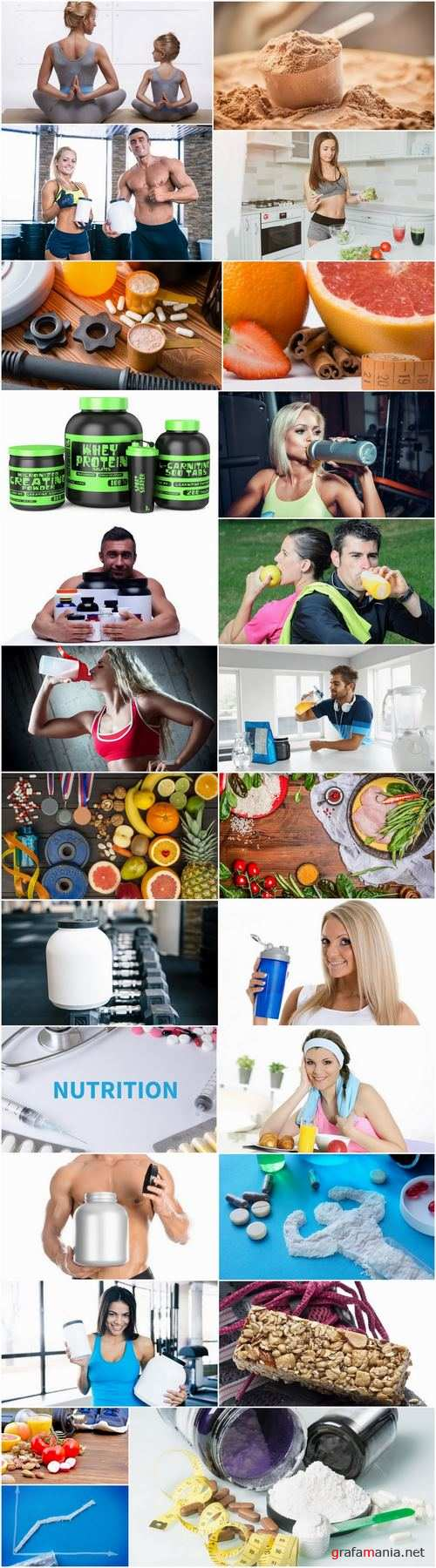 Sports nutrition fitness training gym muscle dietary supplement 25 HQ Jpeg