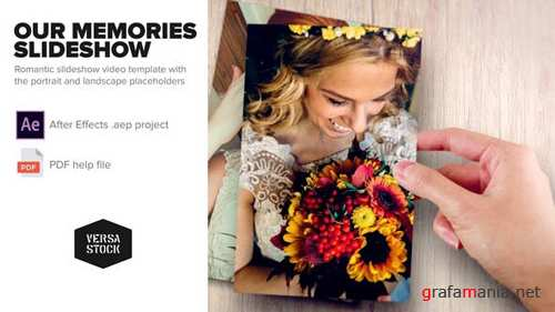 Our Memories Slideshow - After Effects Project (Videohive)