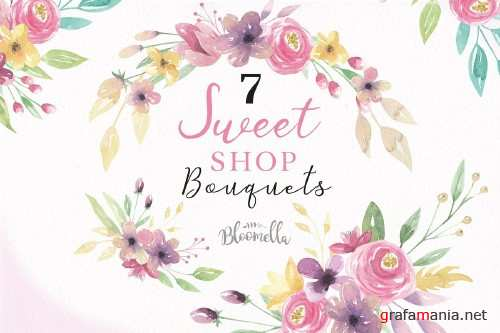 Sweet Floral Bouquets Flowers Kit - 2431983