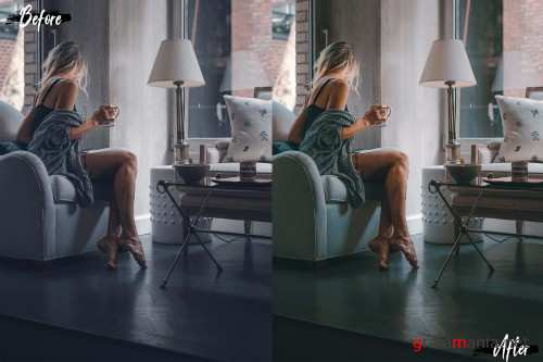 Neo Mango Theme Color Grading photoshop actions - 258395