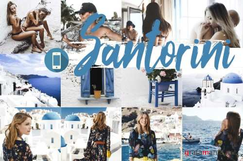 Neo Santorini Theme mobile lightroom presets - 259296