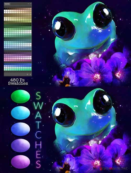 Frog Swatches - 3739198