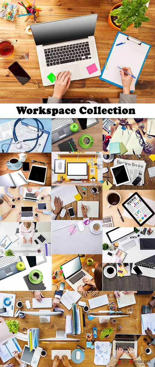Workspace Collection - 25 HQ Images