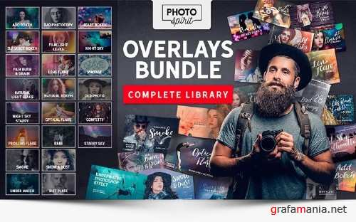 inkydeals - 1000+ Premium HD Overlays and Actions for Photoshop