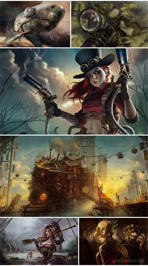 Steampunk wallpapers (Part 6)