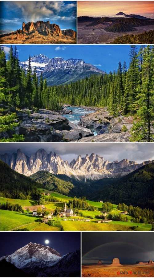 Landscapes Mountains (Pack 65)