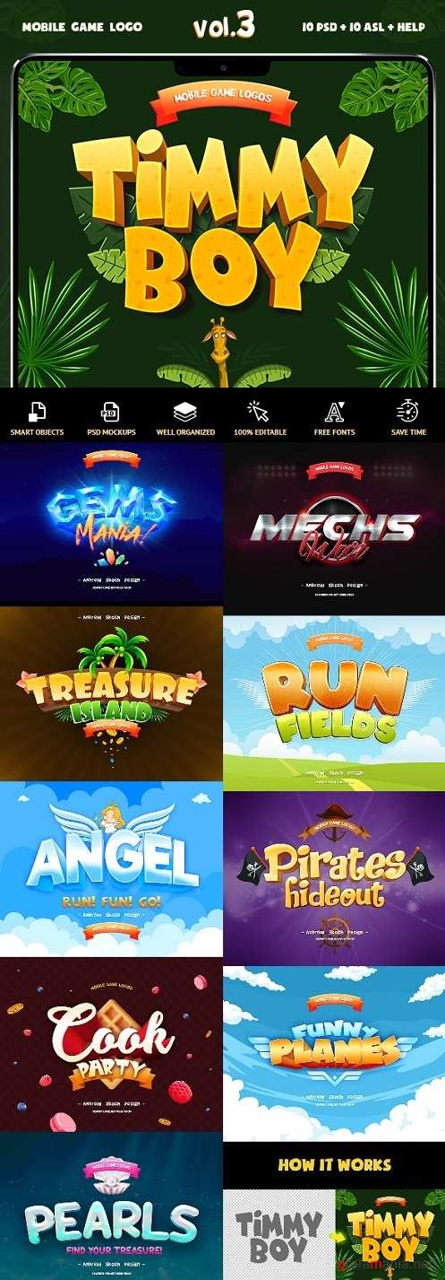 Game Titles Text Effects Vol.3 - 23831817