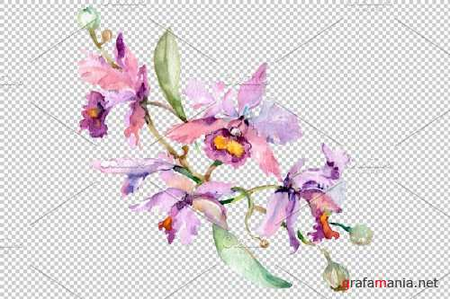 Bouquet with orchids Angel gift - 3835759