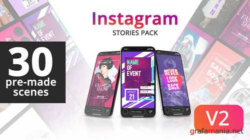 Instagram Stories 22089697 - After Effects Project (Videohive)