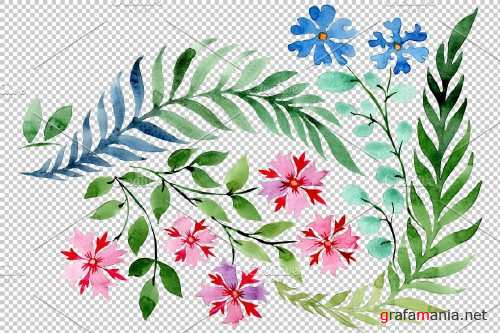 Flower drawing watercolor png - 3868608