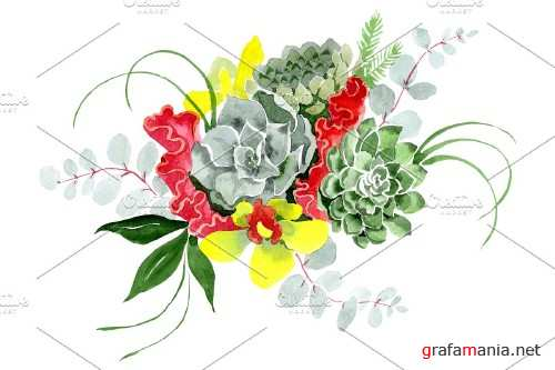 "Bouquet ""Long-awaited happiness"" - 3886051"