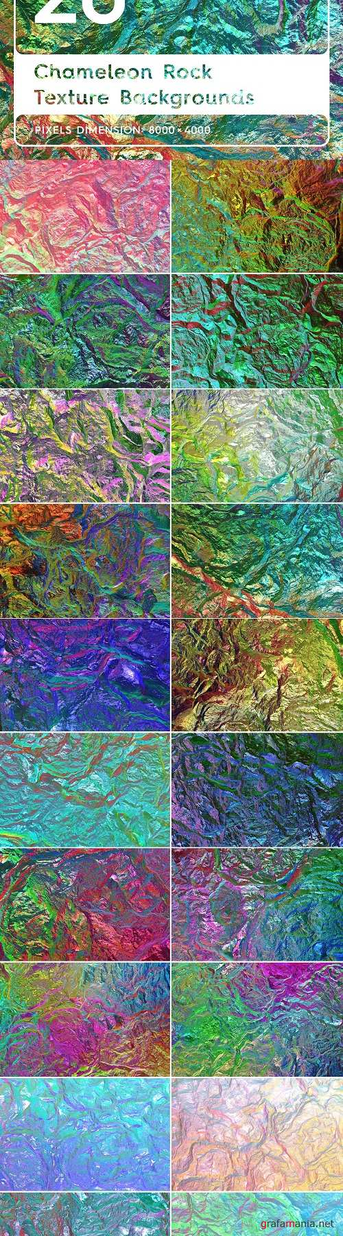 20 Chameleon Rock Texture Background - 3816847