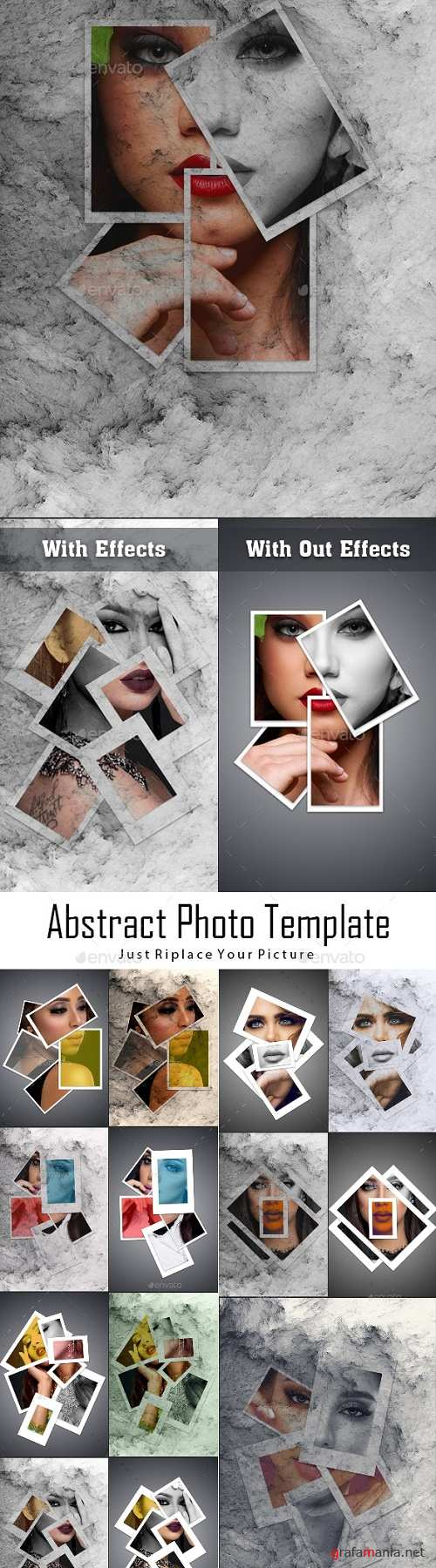 Abstract Photo Template 23805103
