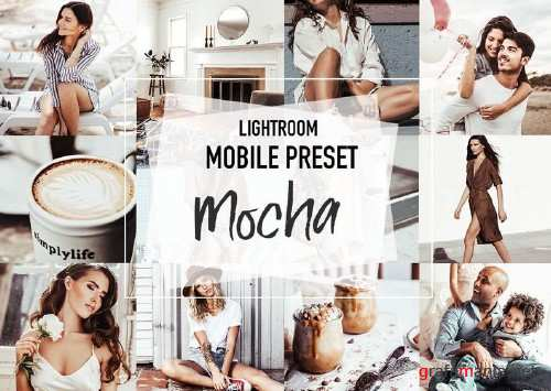 MOCHA 4 Lightroom Presets - 4 Lightroom Mobile Presets