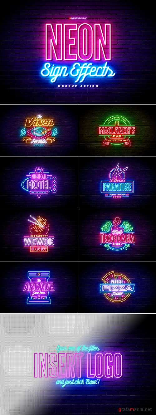Neon Sign Effects - 3893928