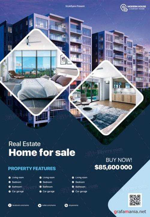 Real Estate V16 2019 PSD Flyer Template