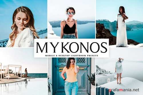 Mykonos Mobile & Desktop Lightroom Presets