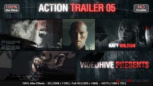 Action Trailer 05 - After Effects Project (Videohive)