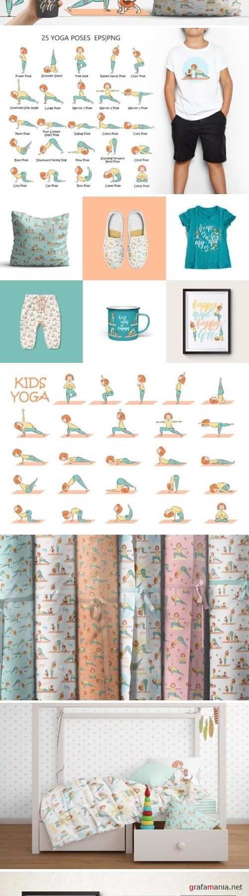 Yoga kid&dog collection - 2590712