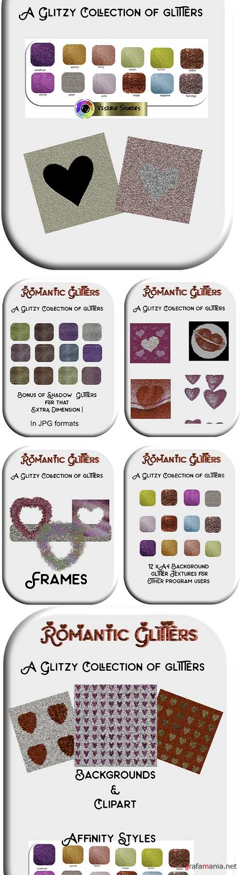 Romantic Glitters - Affinity Styles, Textures