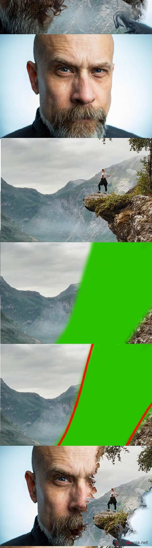 Gif Animated Horizon Photoshop Action 24080344