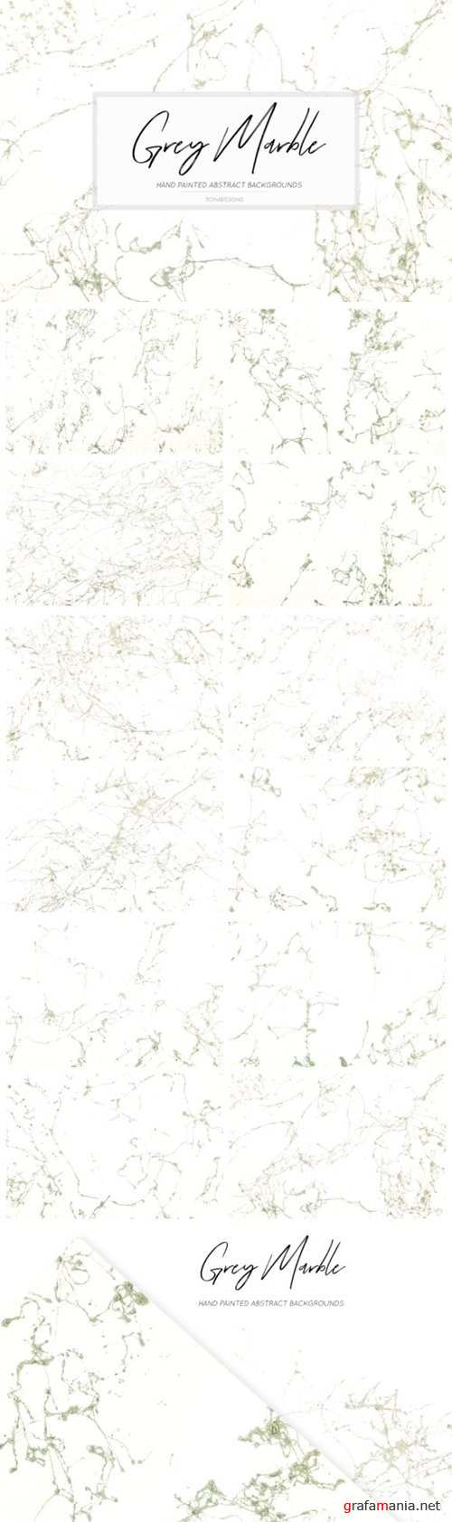 Grey Abstract Marble Backgrounds 3984521