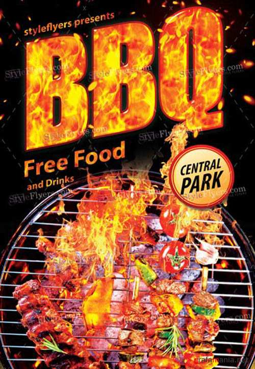 BBQ V11 2019 PSD Flyer Template