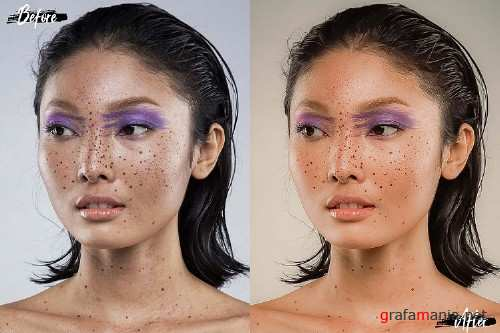 18 Perfect Skin Photoshop Actions, ACR and LUT presets - 300569