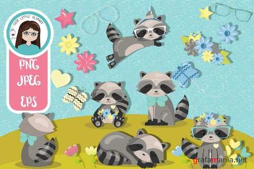 Racoon Cliparts - 293656