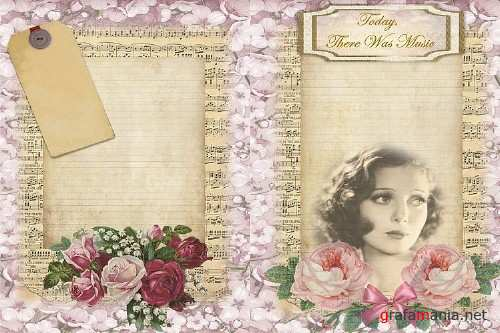 Journalling Papers with FREE Ephemera CU JPEG & PNG - 276930