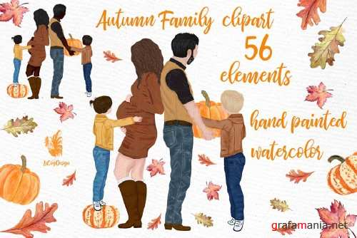 Family clipart, Pregnant women image - 4008470