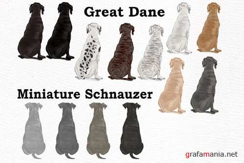 Dog Clipart, Dog breeds, Pet clipart - 4011293