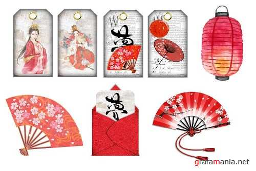 Japanese Journaling Kit with free clipart Commercial use - 312685