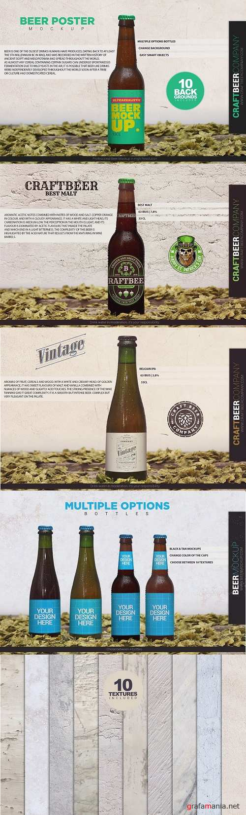 Beer Poster Template - 4012182