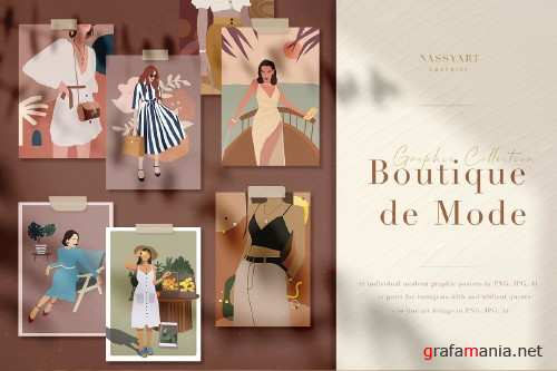 Boutique de Mode Graphic Collection - 4056333