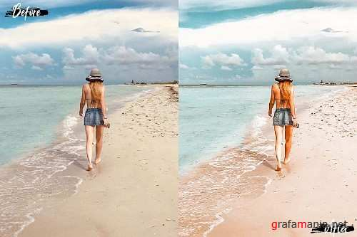 5 Summer Noon Photoshop Actions - 320334