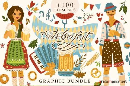 Octoberfest. Graphic Bundle - 4056041