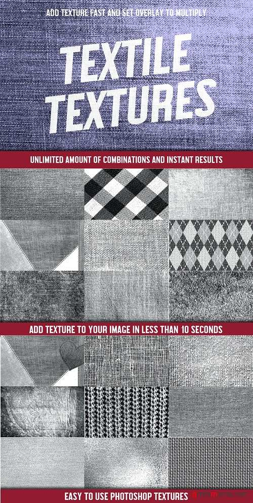 25 Easy to use Textile Textures - 4056270