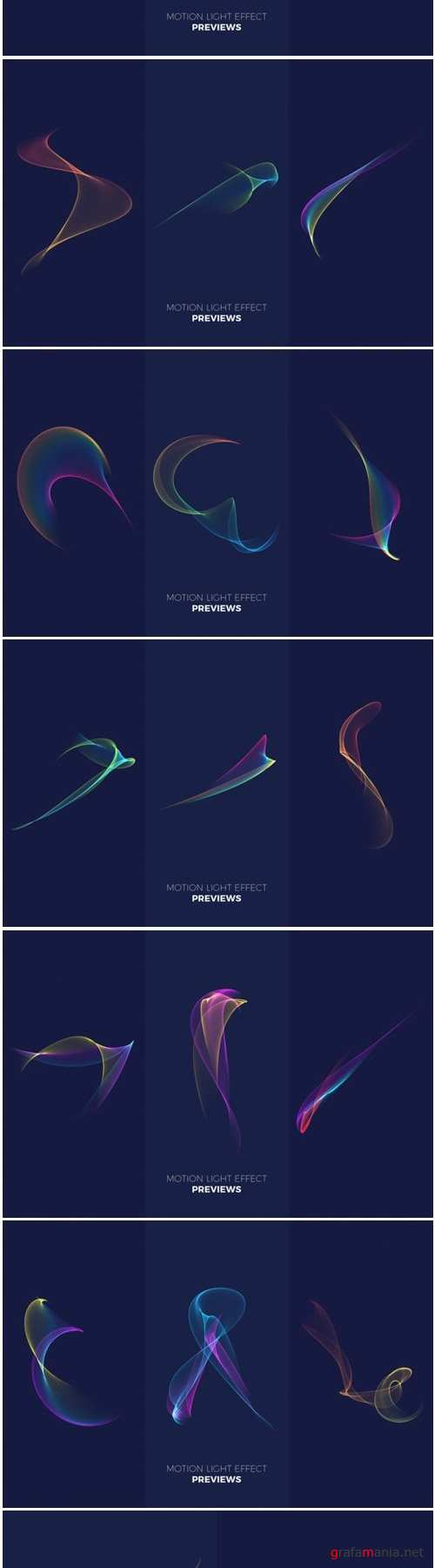 Abstract Motion Light Effects Pack
