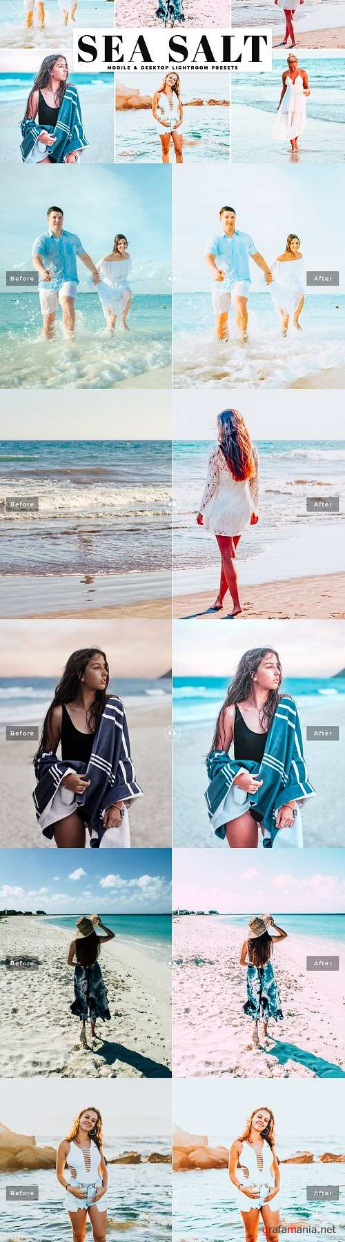 Sea Salt Lightroom Presets Pack - 4027508