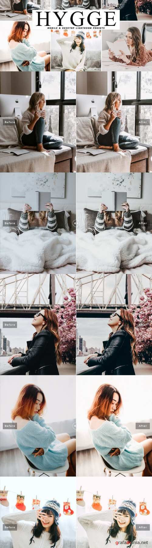 Hygge Lightroom Presets Pack - 4045513